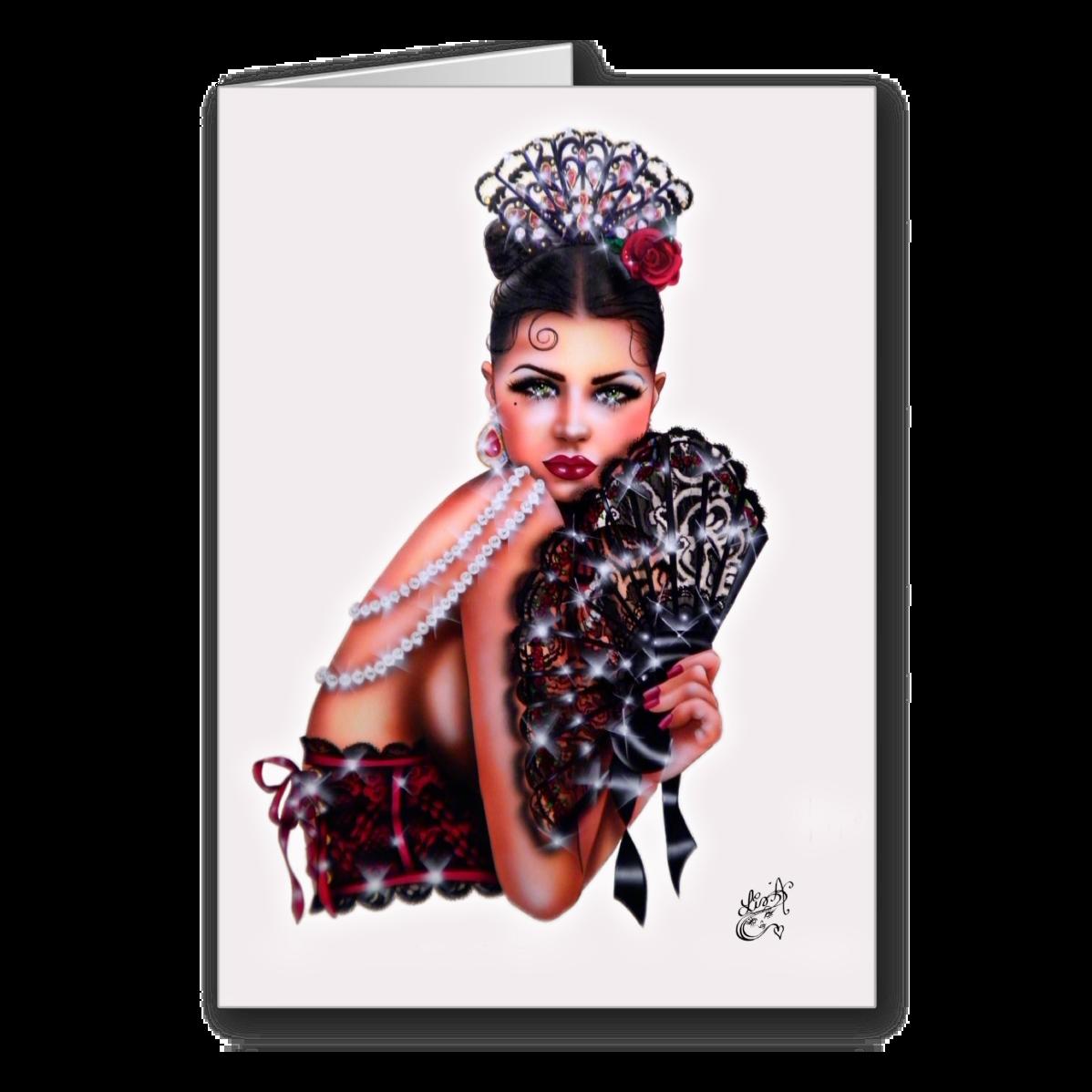 Spanish eyes by elizabeth austin greeting card the pinup art of spanish eyes by elizabeth austin greeting card m4hsunfo